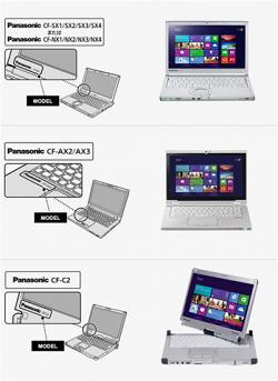 Recalled Panasonic Toughbook Laptop