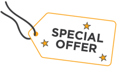 Special Offer Swing Tag