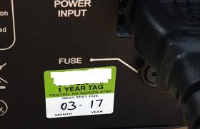 non-compliant tag