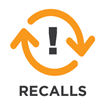 recalled electric appliances